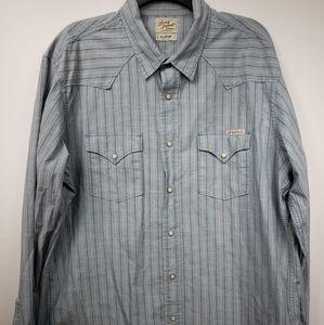 Distinctive Western Lucky Brand Sportswear sz XL